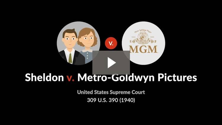 Sheldon v. Metro-Goldwyn Pictures Corp.