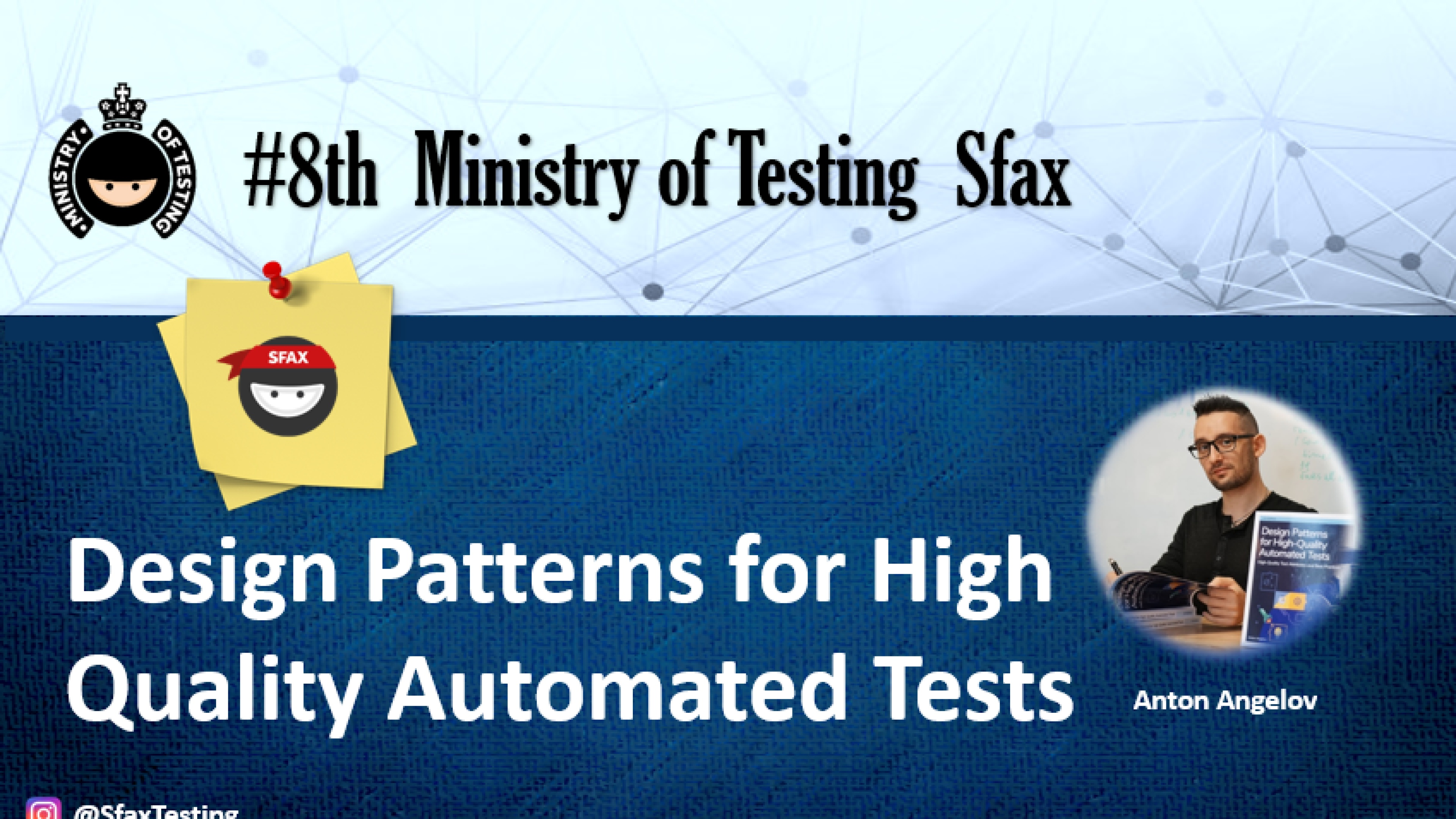 Design Patterns for High Quality Automated Tests - Anton Angelov