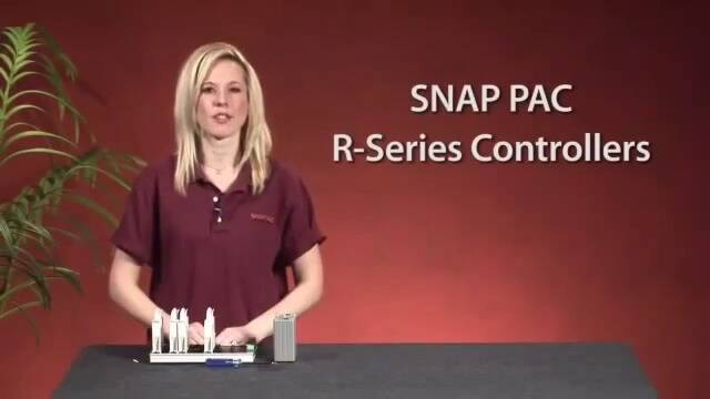 SNAP PAC R Series Controller - OptoMinute