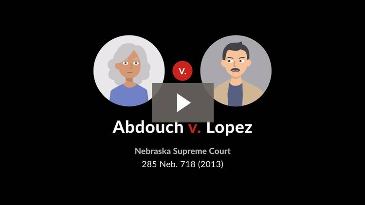 Abdouch v. Lopez