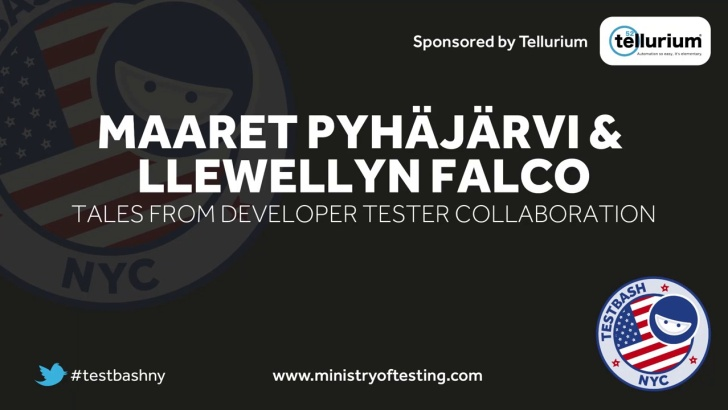 Tales From Developer Tester Collaboration – Maaret Pyhäjärvi & Llewellyn Falco