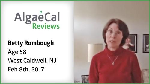 Testimonial thumbnail portrait of Betty Rombough