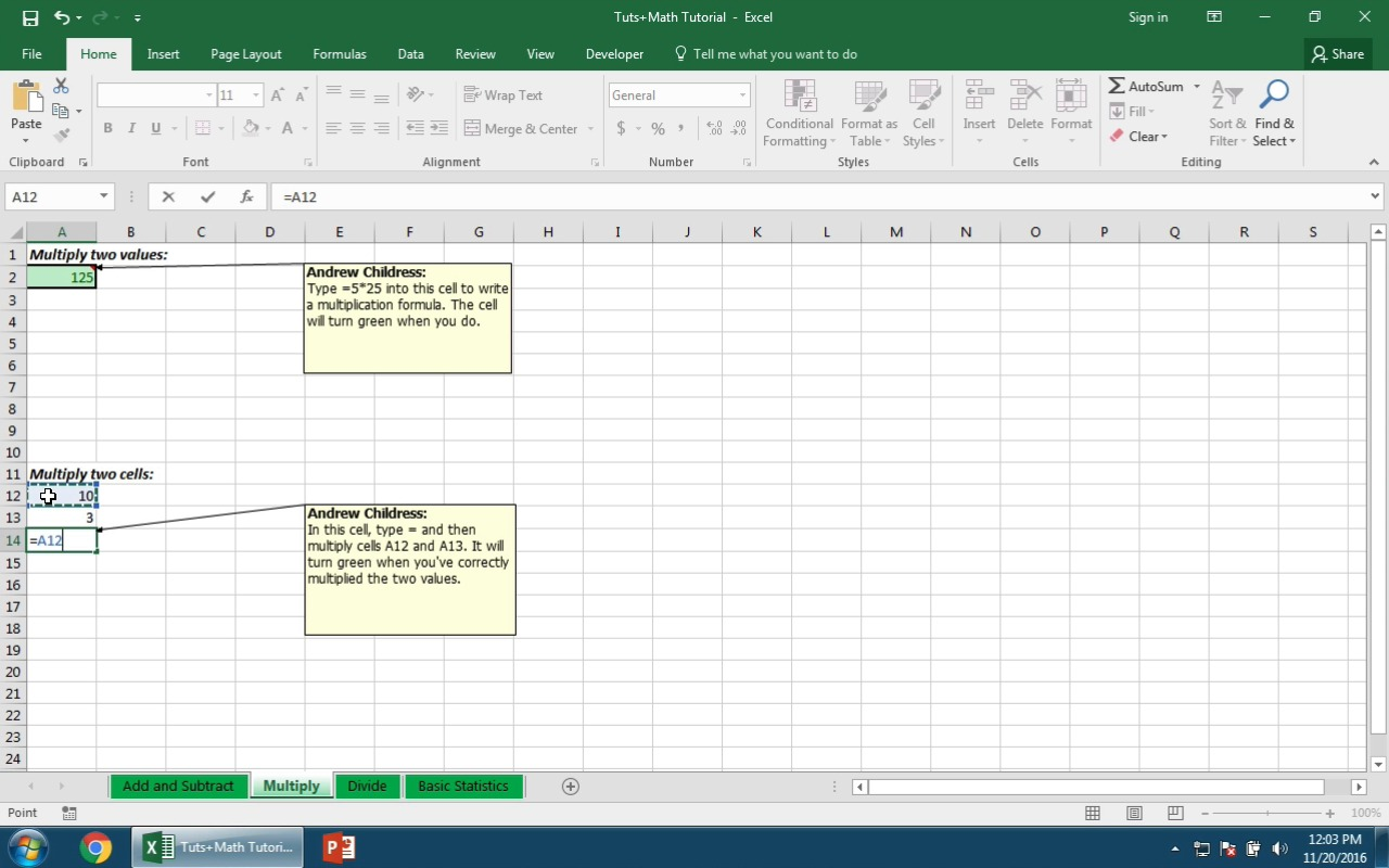 How to Work With Excel Math Formulas Guide to the Basics