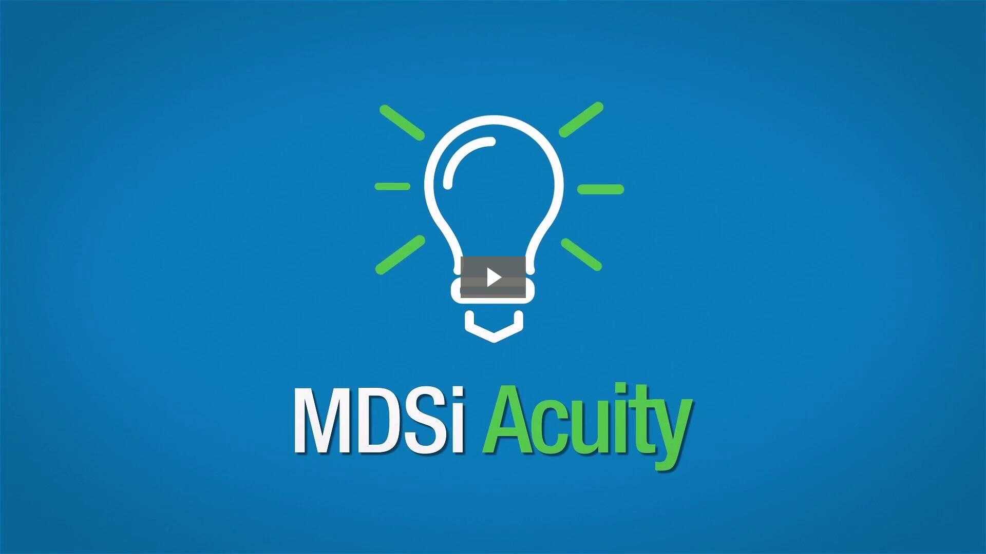 MDSi Acuity