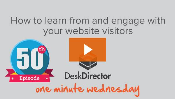 How to learn from and engage with your website visitors