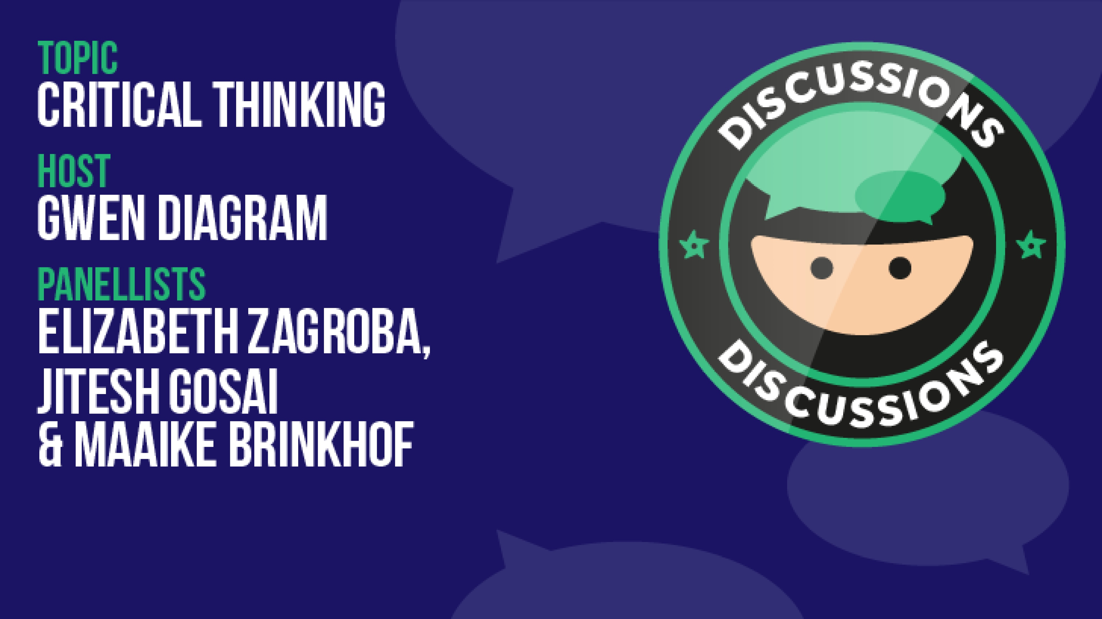 Discussion: Critical Thinking