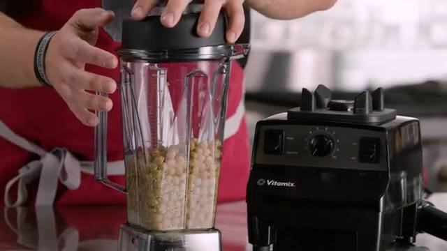 Video Overview Hummus With The Vitamix Vita Prep 3 Commercial