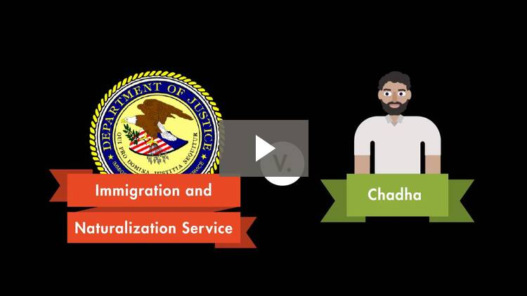 Immigration and Naturalization Service v. Chadha