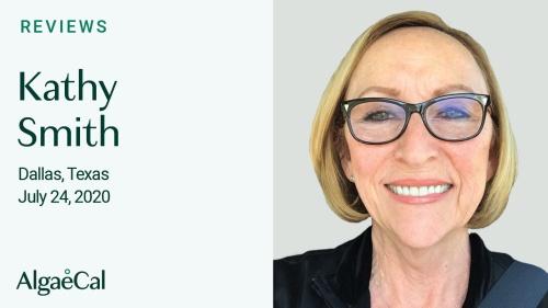 Testimonial thumbnail portrait of Kathy Smith