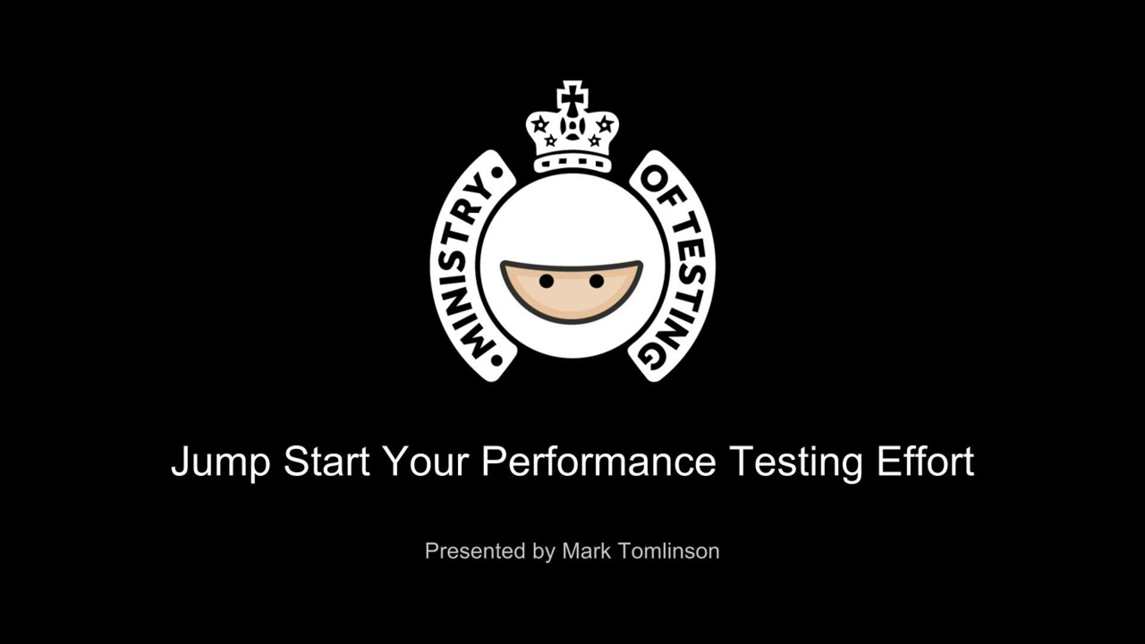 Jump Start Your Performance Testing Effort with Mark Tomlinson
