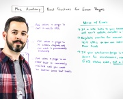 Moz Academy - Best Practices for Error Pages