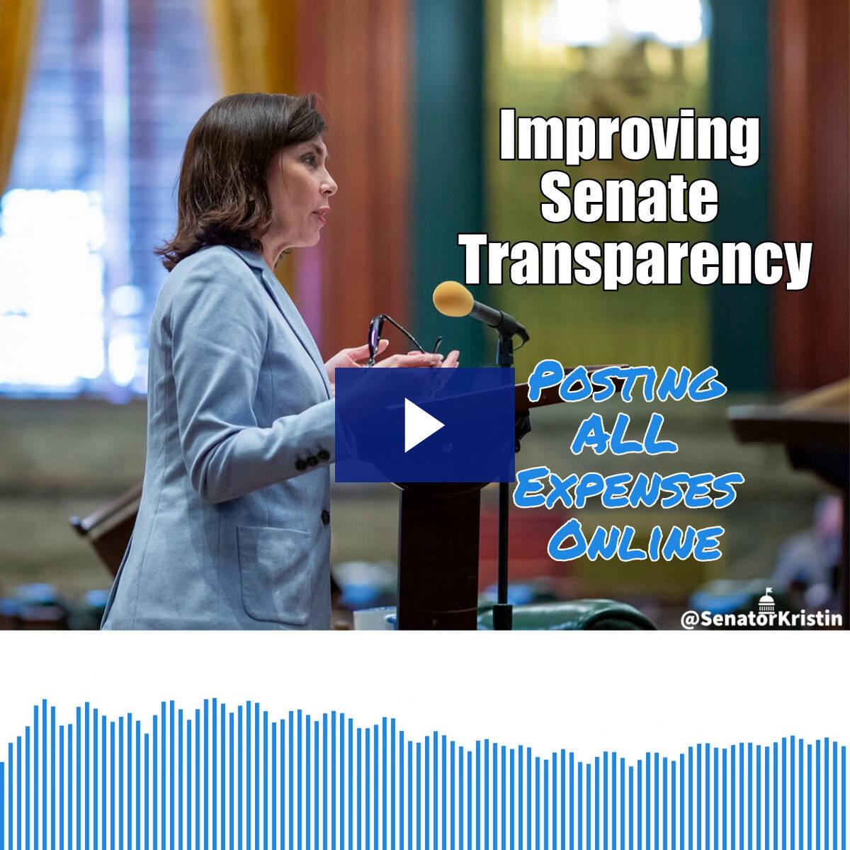 8/12/21 - Senate Transparency Efforts