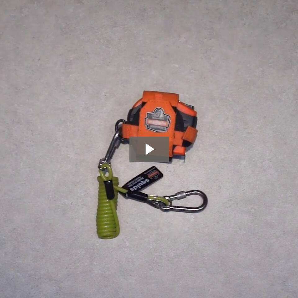 Ergodyne Product Video - Squids<sup>®</sup> 3190 Tape Measure Tethering Kit - 2lbs / 0.9kg