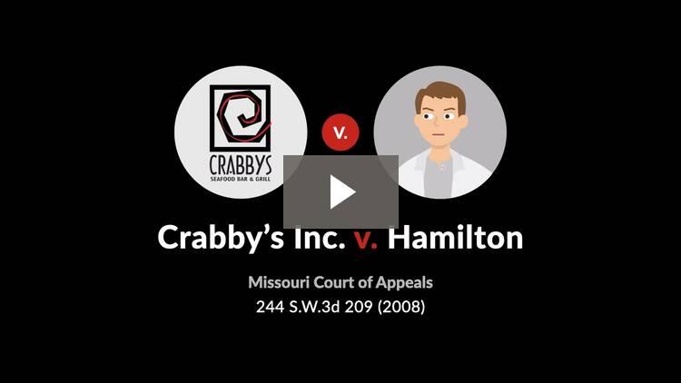 Crabby's Inc. v. Hamilton