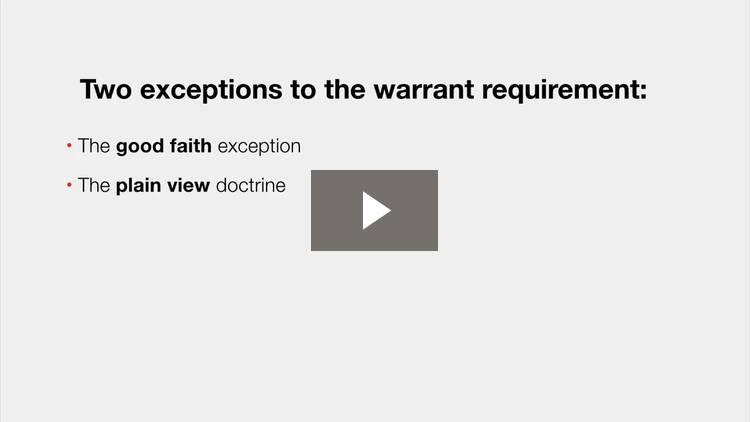 Warrants III