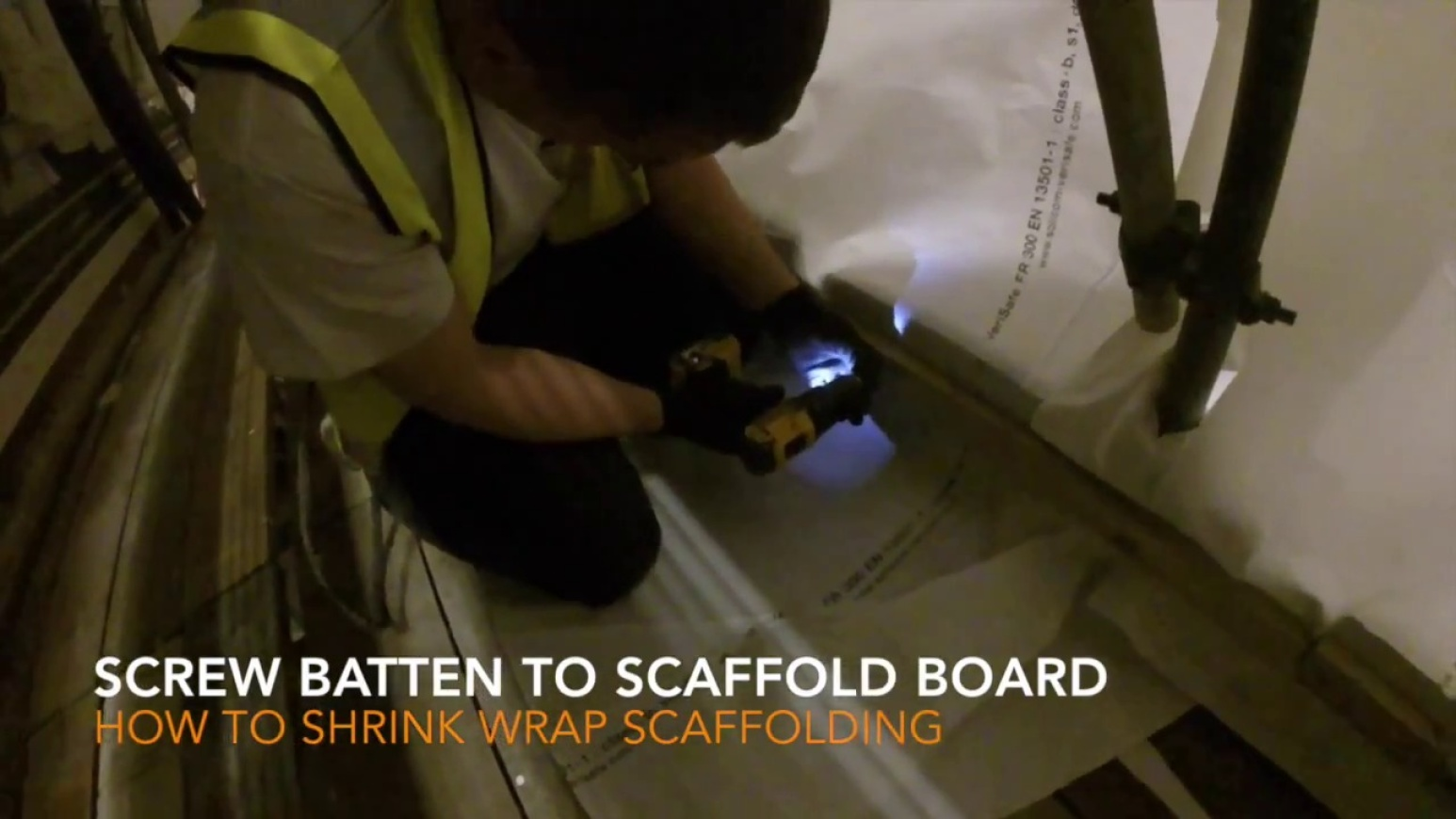 How To Batten Shrink Wrap