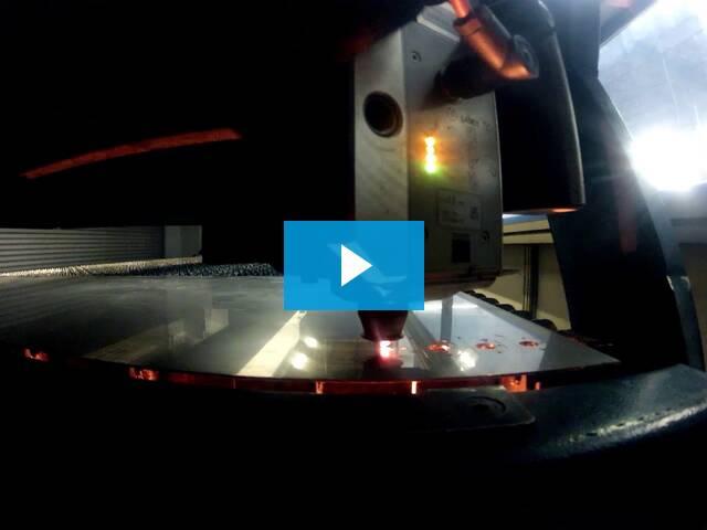 Marlin Steel's laser ensure efficiency by reducing wasteful scrap