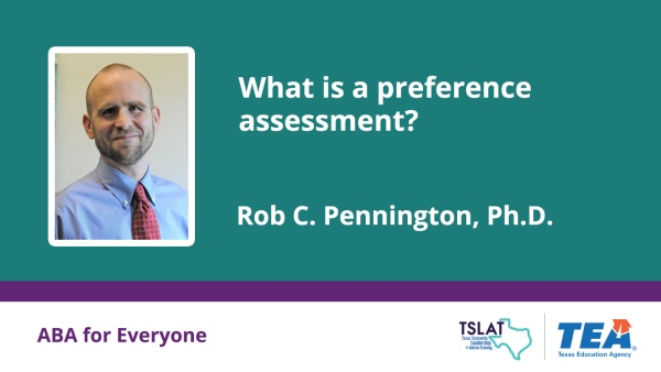 What is a preference assessment?