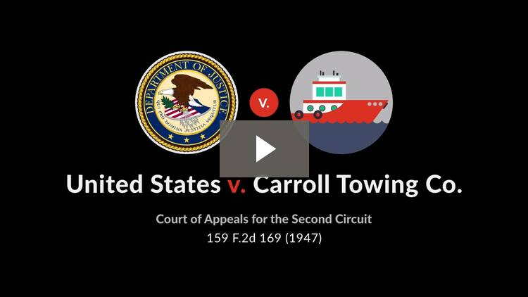 United States v. Carroll Towing Co.