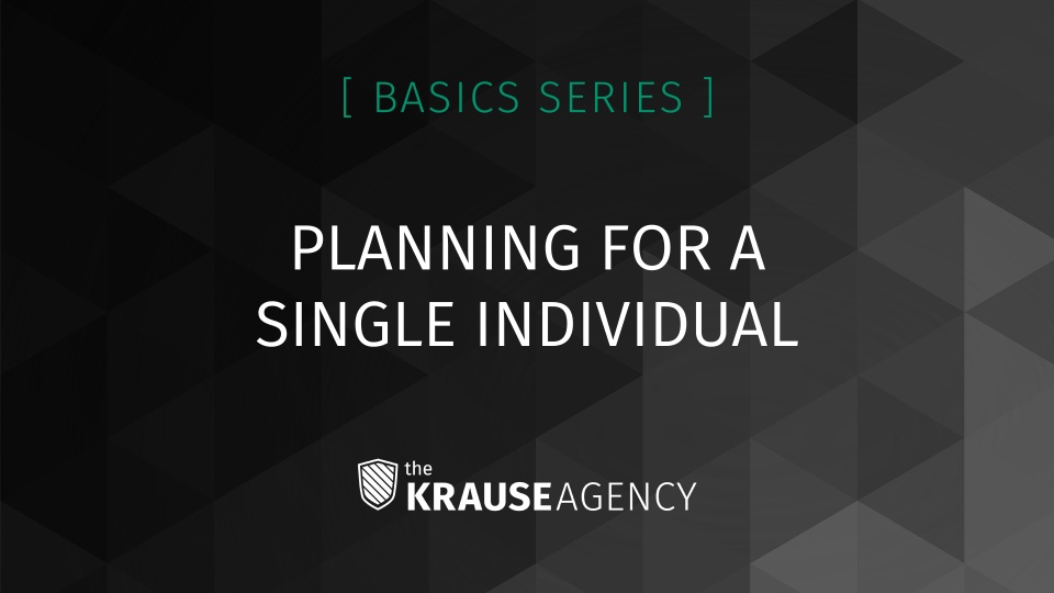 Planning for a Single Individual
