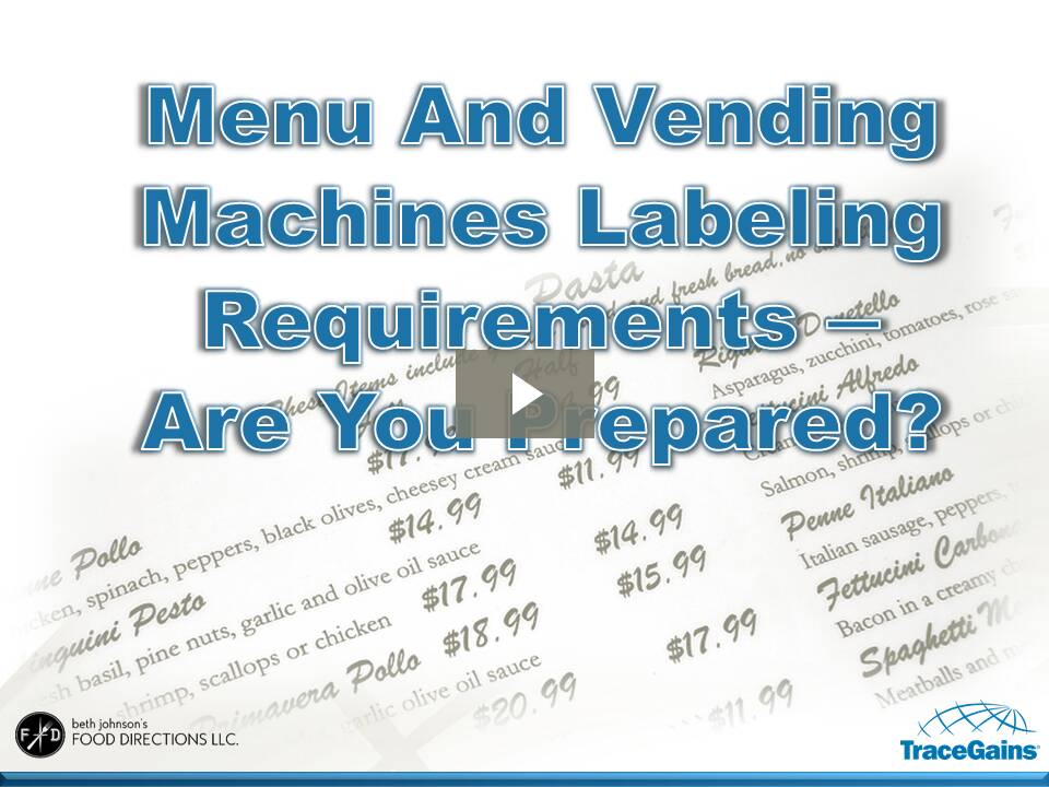 It's just a picture of Revered Fda Vending Machine Labeling