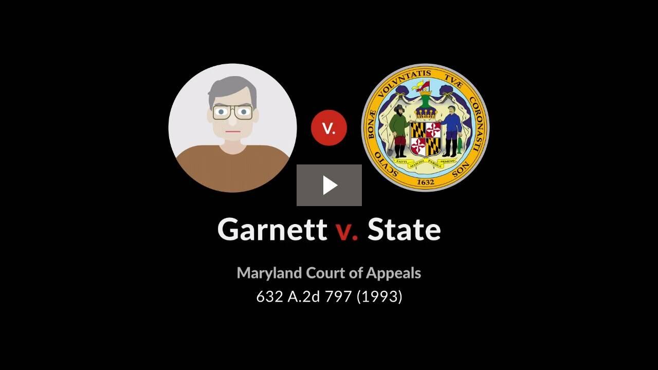 Garnett v. State