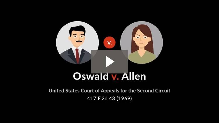 Oswald v. Allen