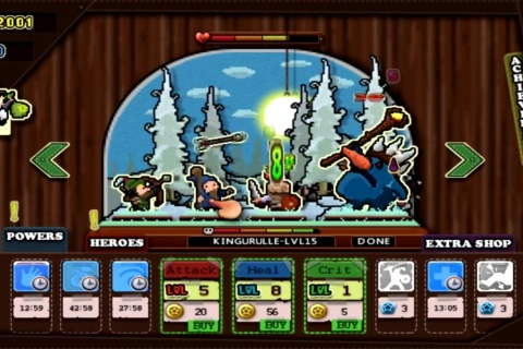 Tap Heroes - Idle RPG Action.