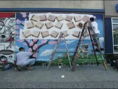 Przez graffiti do serca, czyli oryginalne oświadczyny