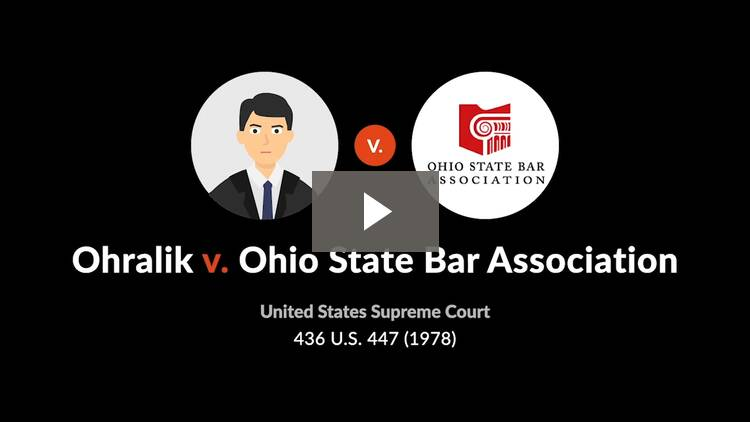 Ohralik v. Ohio State Bar Assn.