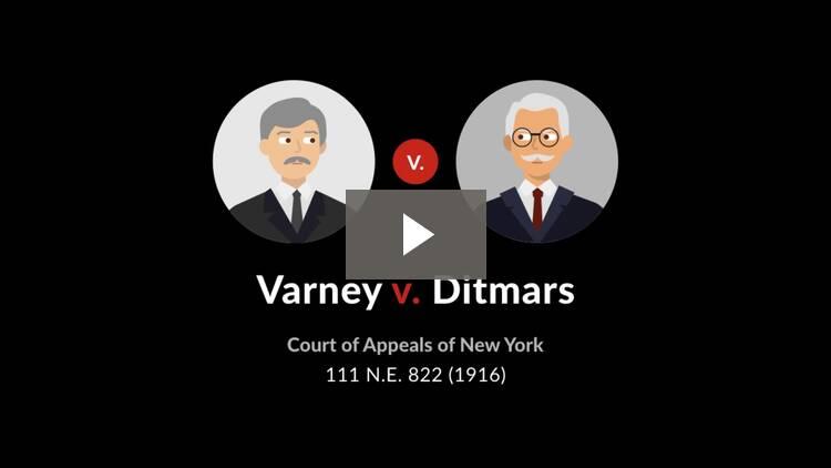 Varney v. Ditmars