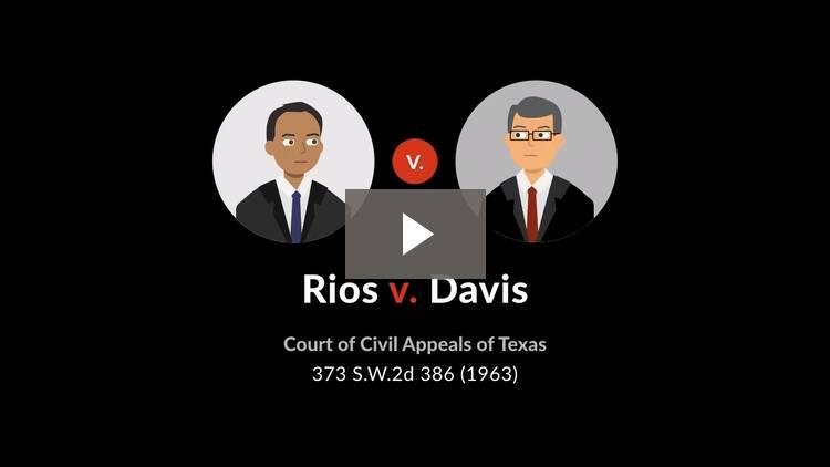 Rios v. Davis