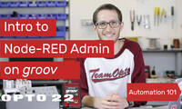 Node-RED Admin on groov
