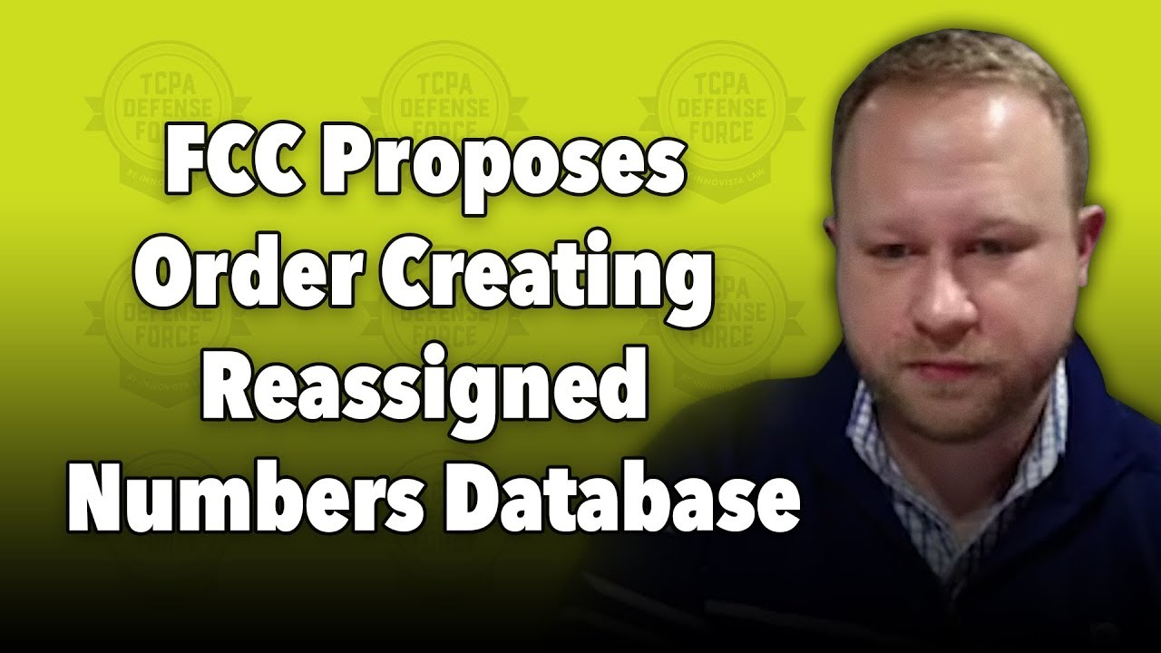 FCC Proposes Reassigned Numbers Database