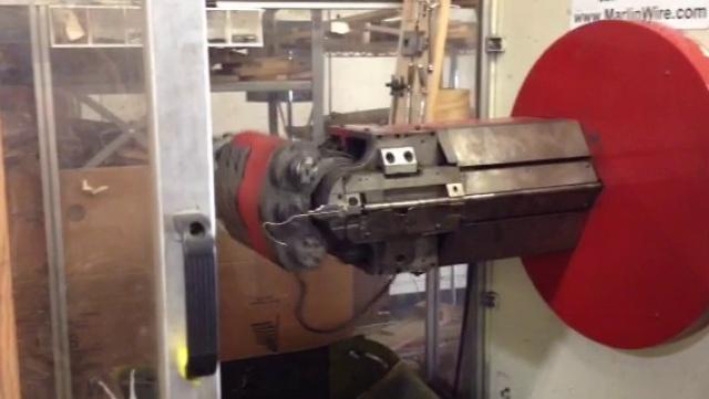 Wire Bending Machine Demo