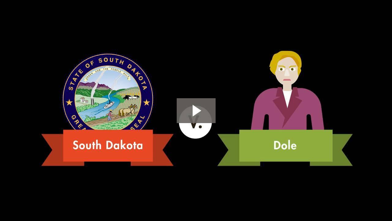 South Dakota v. Dole