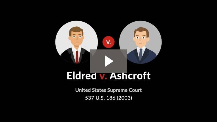 Eldred v. Ashcroft