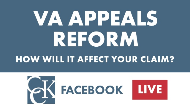 VA Appeals Reform: How will it affect your claim?