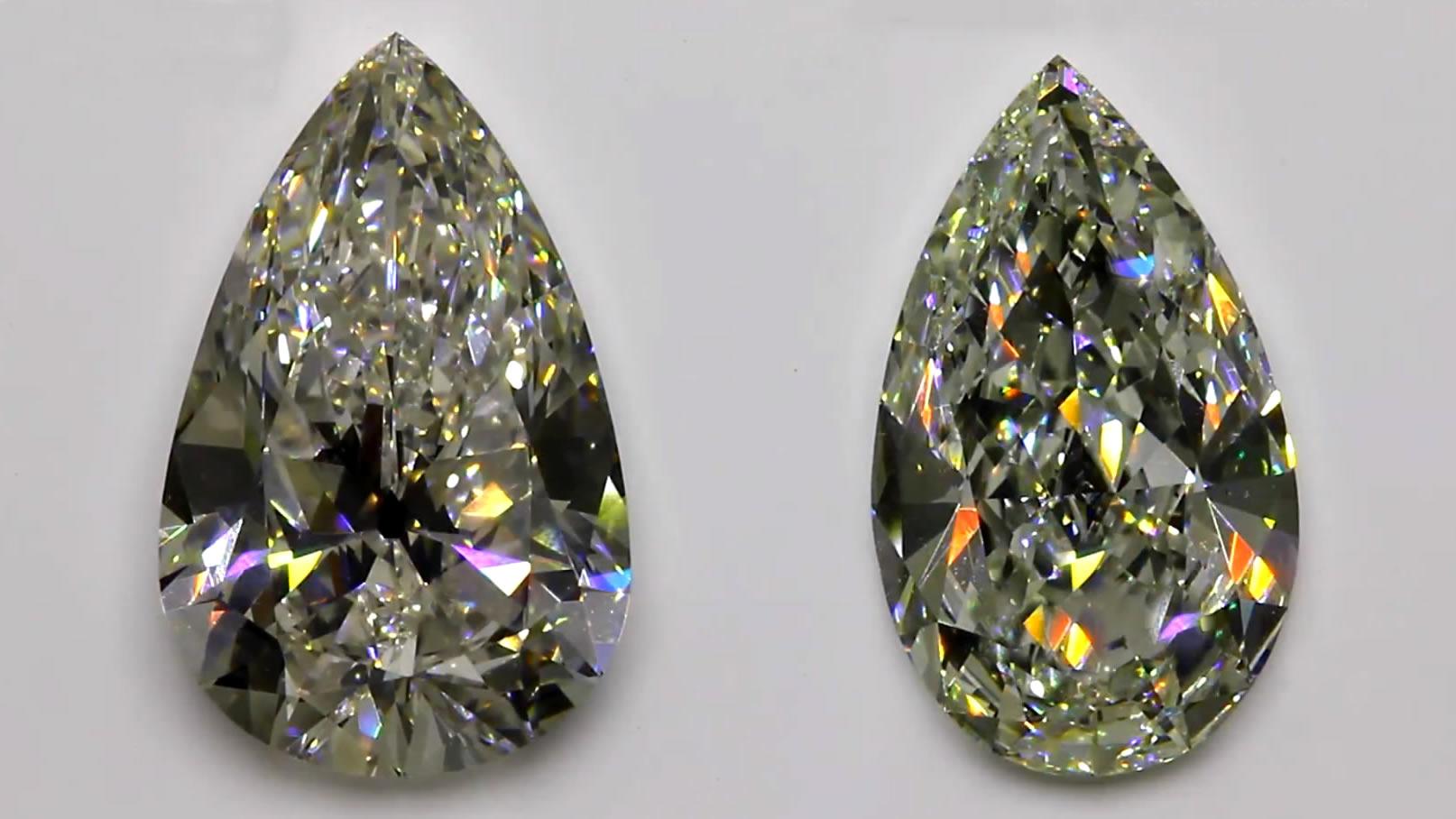 Pear shaped diamonds - a guide