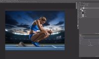 Thumbnail for Heptathlon / Retouching