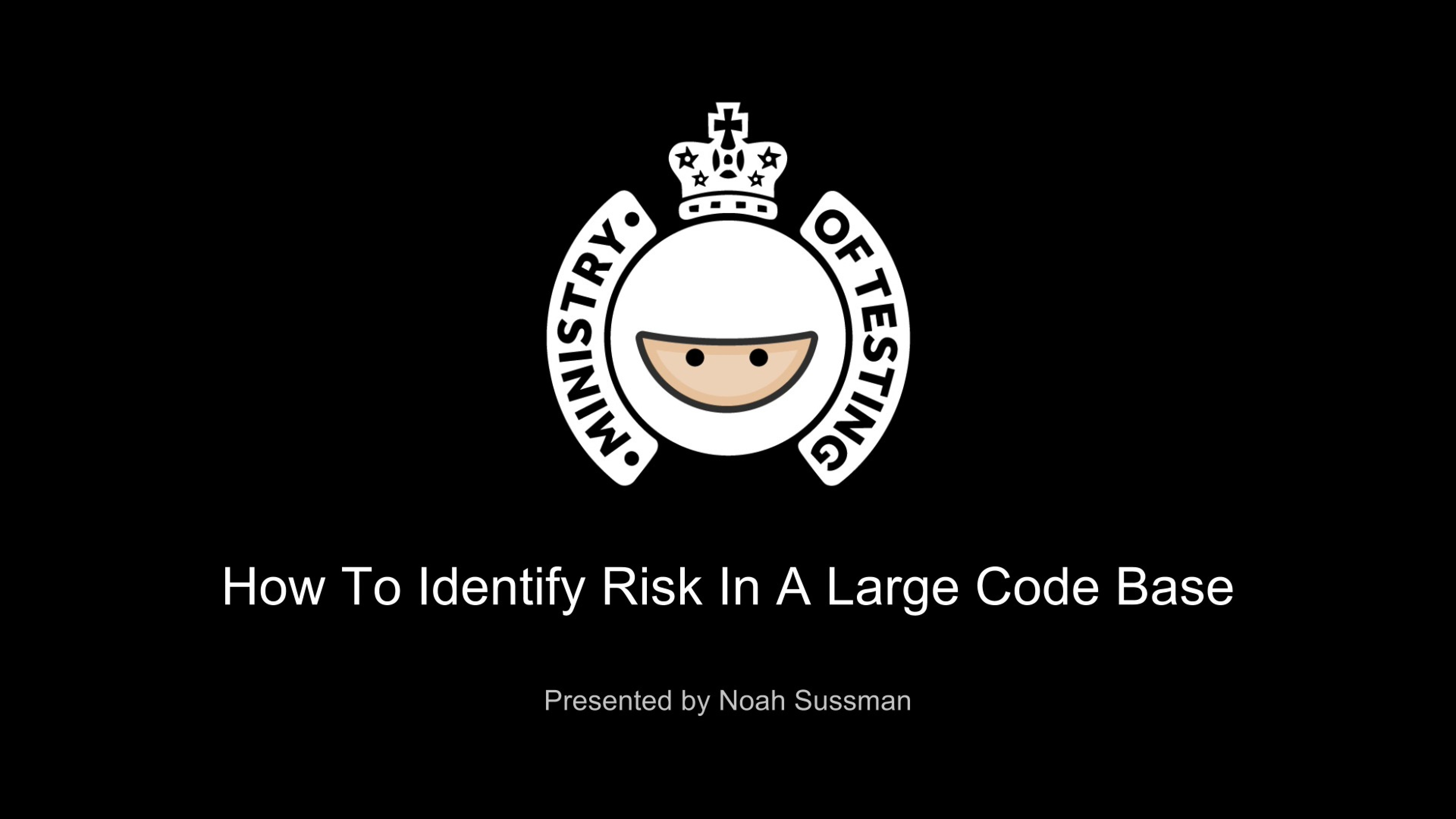 How to Identify Risk in a Large Code Base with Noah Sussman