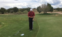 Soft Hands Alignment Rod Chipping Drill to Develop Feel