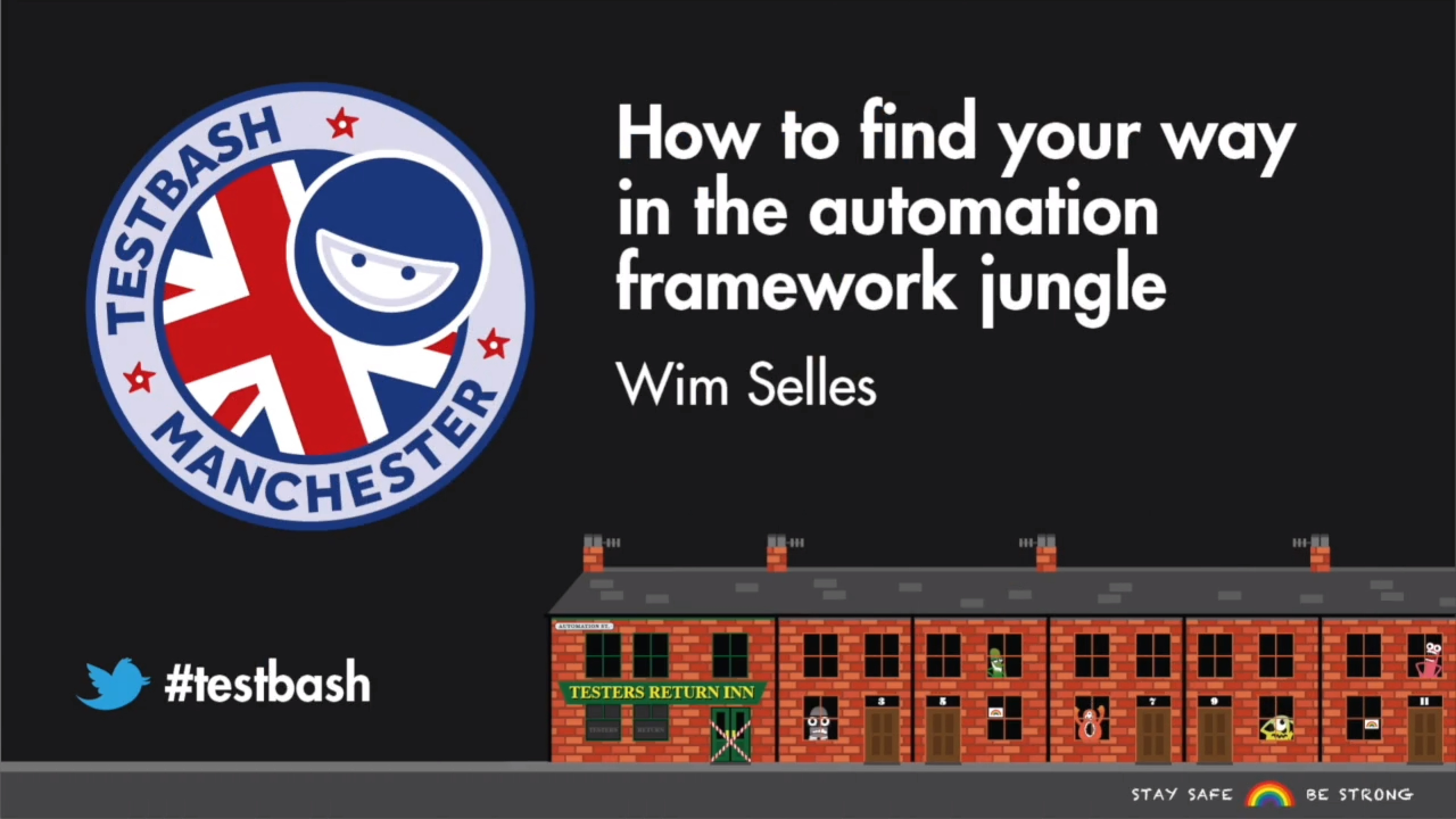 How to Find Your Way in the Automation Framework Jungle - Wim Selles