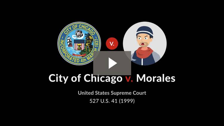 City of Chicago v. Morales