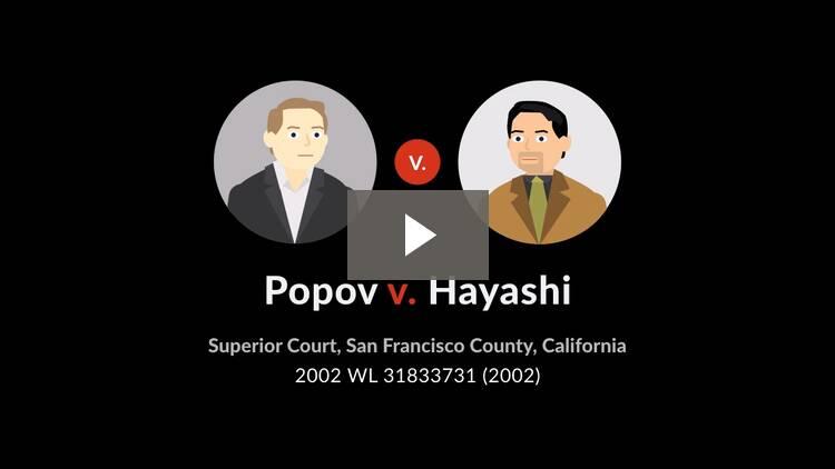 Popov v. Hayashi