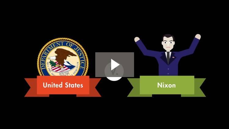 United States v. Nixon