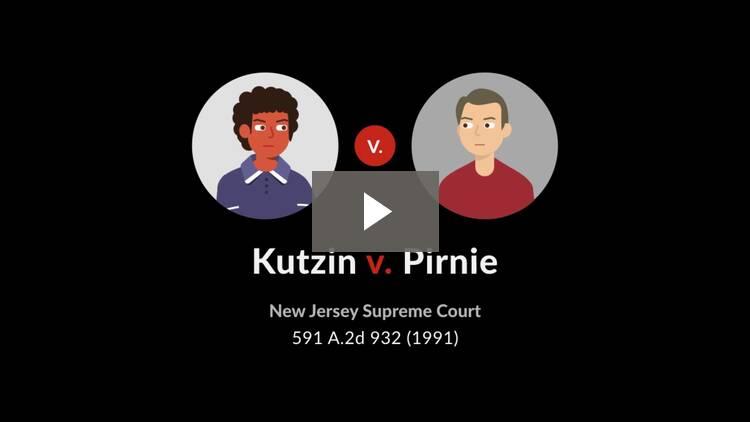 Kutzin v. Pirnie