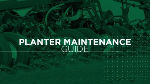 Planter Maintenance Guide