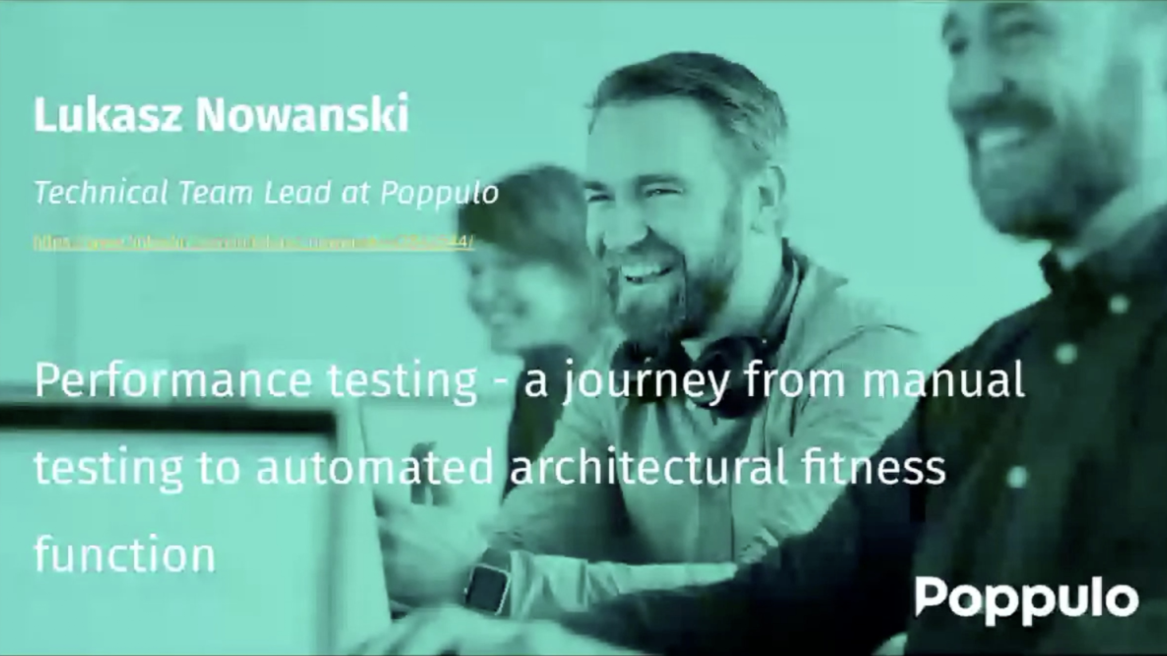 The Motrix : Lukasz Nowanski - Real world Example of Performance Testing