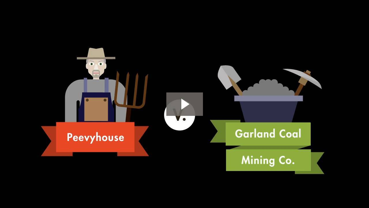 Peevyhouse v. Garland Coal Mining Co.